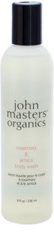 John Masters Organics Rosemary & Arnica gel za prhanje s poživljajočim učinkom