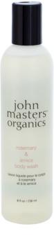 John Masters Organics Rosemary & Arnica sprchový gel s povzbuzujícím účinkem