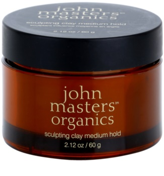 John Masters Organics Sculpting Clay Medium Hold modellierende Paste mittlere Fixierung