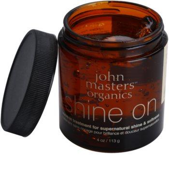 John Masters Organics Shine On Styling-Gel für glatte und glänzende Haare