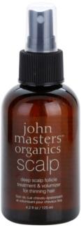 John Masters Organics Scalp spray wspomagający zdrowy wzrost włosów od nasady
