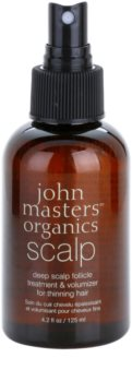 John Masters Organics Scalp спрей за здрав растеж на косата от корените