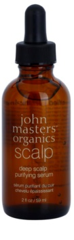 John Masters Organics Scalp hĺbkovo čistiace sérum pre vlasovú pokožku