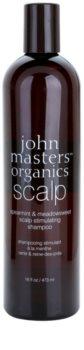 John Masters Organics Scalp stimulujúci šampón pre zdravú pokožku hlavy