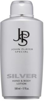 John Player Special Silver leche corporal para hombre 500 ml
