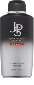 John Player Special Sport leche corporal para hombre 500 ml