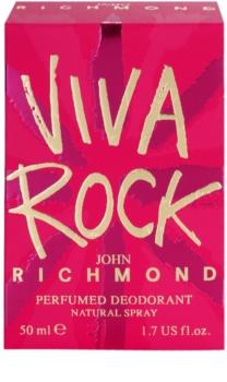 John Richmond Viva Rock deospray pro ženy 50 ml