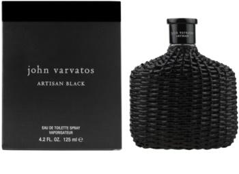 John Varvatos Artisan Black eau de toilette per uomo 125 ml