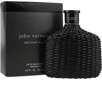 John Varvatos Artisan Black Eau de Toilette Herren 125 ml