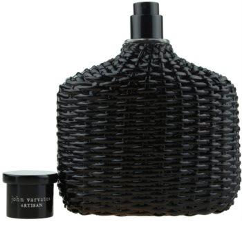 John Varvatos Artisan Black Eau de Toilette voor Mannen 125 ml