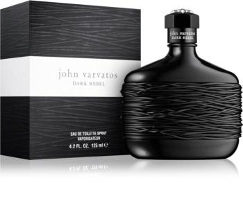 John Varvatos Dark Rebel Eau de Toilette para homens 125 ml