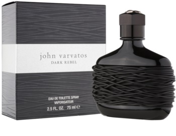 John Varvatos Dark Rebel eau de toilette per uomo 75 ml