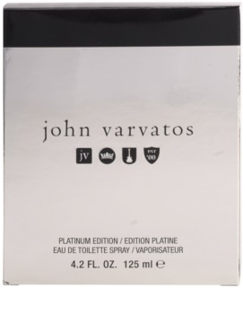 John Varvatos John Varvatos Platinum Edition Eau de Toilette for Men 125 ml