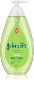 Johnson's Baby Wash and Bath Gentle Shampoo for Children from Birth With Chamomile
