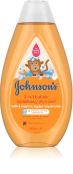 Johnson's Baby Wash and Bath płyn do kąpieli i żel pod prysznic 2 w 1