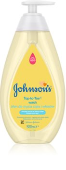 Johnson's Baby Top-to-Toe Washing Gel for Body and Hair for Children from Birth
