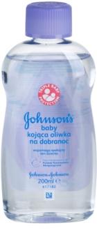 Johnson's Baby Care otroško olje za telo za dobro spanje