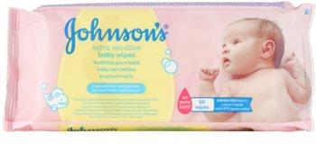 Johnson's Baby Diapering Extra mjuka rengöringsservetter för barn
