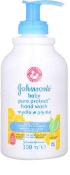 Johnson's Baby Pure Protect рідке мило для рук для дітей