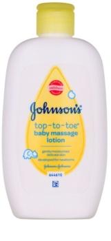Johnson's Baby Top-to-Toe дитяче масажне молочко для тіла