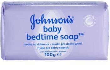 Johnson's Baby Wash and Bath dětské mýdlo pro dobré spaní
