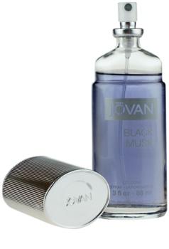 Jovan Black Musk kolonjska voda za moške 88 ml