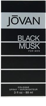Jovan Black Musk kolinská voda pre mužov 88 ml