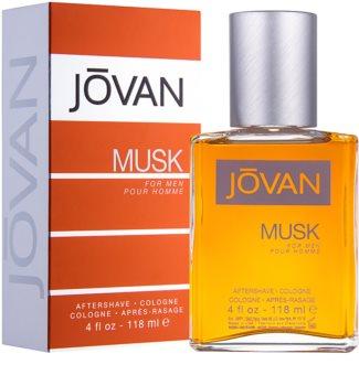 Jovan Musk νερό για μετά το ξύρισμα για άνδρες 118 μλ