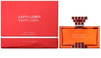 Judith Leiber Exotic Coral Eau de Parfum para mulheres 75 ml