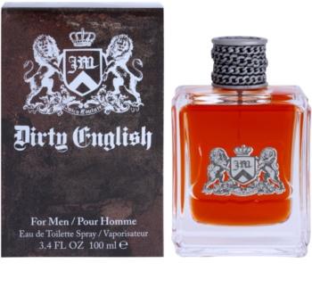 Juicy Couture Dirty English eau de toilette per uomo 100 ml