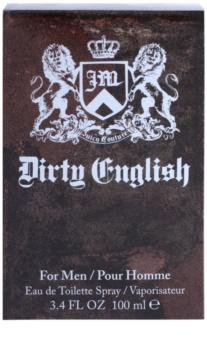 Juicy Couture Dirty English Eau de Toilette für Herren 100 ml