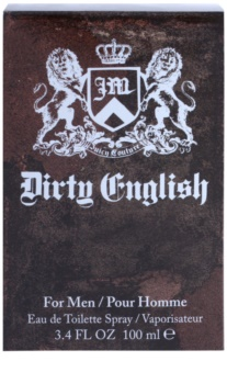 Juicy Couture Dirty English eau de toilette pentru barbati 100 ml