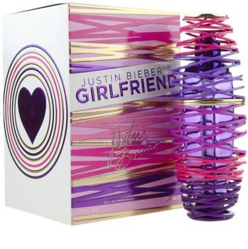 Justin Bieber Girlfriend Parfumovaná voda pre ženy 50 ml