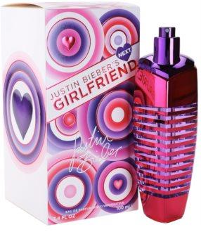 Justin Bieber Next Girlfriend Eau de Parfum για γυναίκες 100 μλ