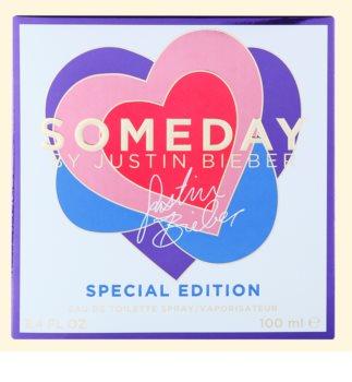 Justin Bieber Someday Summer Edition Eau de Toilette voor Vrouwen  100 ml