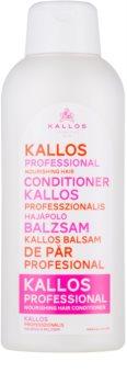 Kallos Nourishing après-shampoing pour cheveux secs et abîmés