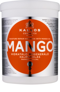 Kallos KJMN maska za okrepitev las z mangovim oljem