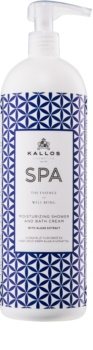 Kallos Spa Bath and Shower Cream Gel with Moisturizing Effect