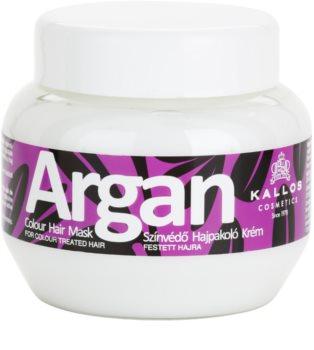 Kallos Argan maschera per capelli tinti