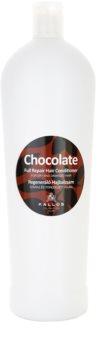 Kallos Chocolate regenerační kondicionér pro suché a poškozené vlasy