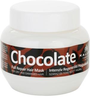 Kallos Chocolate regeneráló maszk száraz és sérült hajra