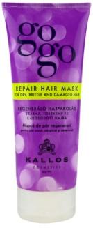 Kallos Gogo маска для регенерації  для сухого або пошкодженого волосся