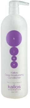 Kallos KJMN feuchtigkeitsspendender Conditioner für trockenes und beschädigtes Haar