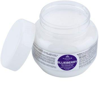 Kallos KJMN mascarilla revitalizante para cabello seco, dañado y químicamente tratado