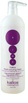 Kallos KJMN mascarilla regeneradora para cabello seco y delicado