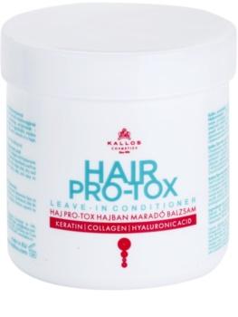 Kallos KJMN condicionador sem enxaguar para cabelo seco a danificado