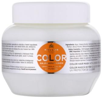 Kallos KJMN maska pro barvené vlasy