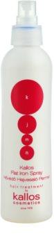 Kallos KJMN spray protecteur pour protéger les cheveux contre la chaleur