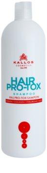 Kallos KJMN šampón s keratínom pre suché a poškodené vlasy