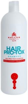Kallos KJMN Shampoo mit Keratin für trockenes und beschädigtes Haar